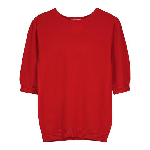 f3c711d5 Elbow Length Crew Neck Cashmere Sweater - BrandAlley
