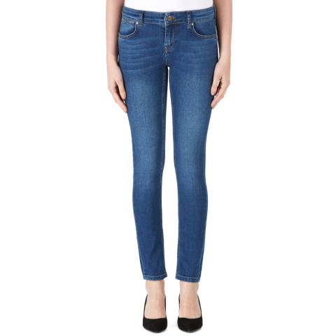 Donna Ida Blue Honor Low Rise Skinny Jeans