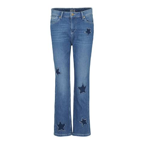 Donna Ida Blue Boy Dazzler Boyfriend Fit Jeans