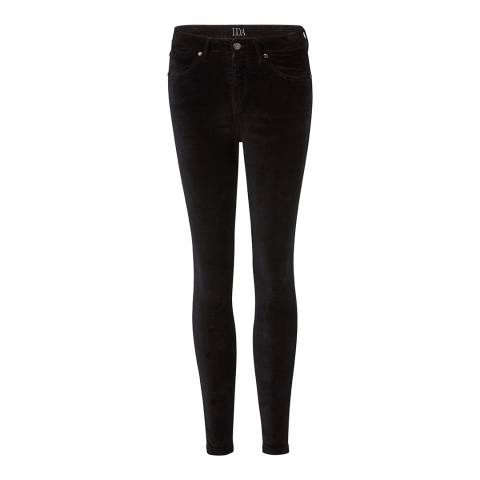 Donna Ida Black Rizzo High Waisted Skinny Jeans