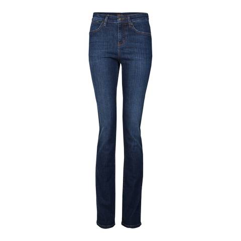Donna Ida Blue Jeanie High Waisted Cigarette Leg Jeans