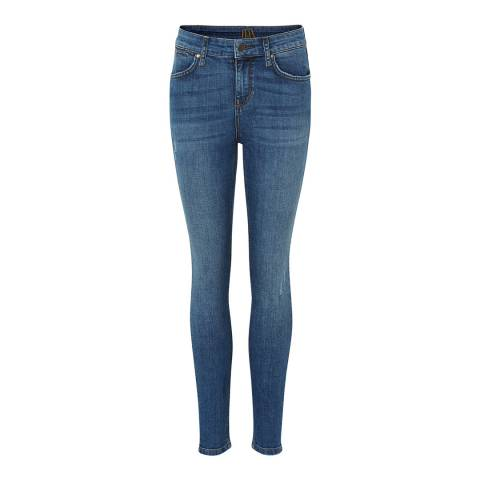 Donna Ida Blue Rizzo High Waisted  Skinny Jeans