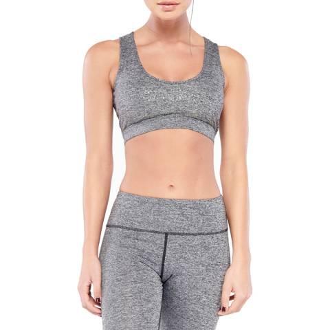 Electric Yoga Heather Grey/ Gunmetal Mineral Bra