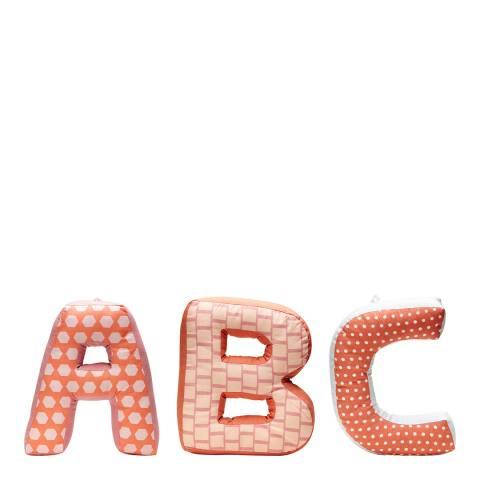 Kids Concept Pink ABC Cushion