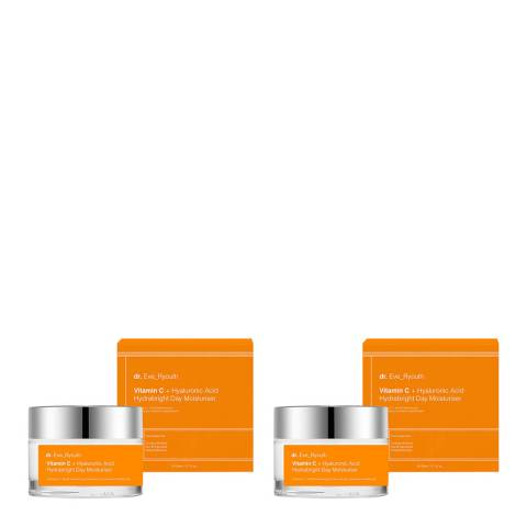 Dr Eve_Ryouth Vitamin C + Hyaluronic Acid Night & Day Set