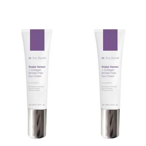 Dr Eve_Ryouth Snake Venom + Collagen Wrinkle Filler Eye Cream Duo