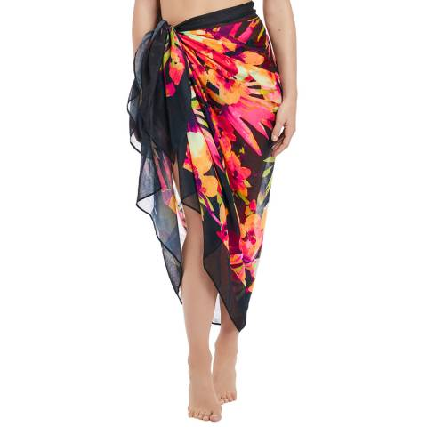 Fantasie Black/Multi Ko Phi Phi Pareo One Size