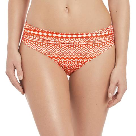 Fantasie Grenadine Sidari Mid Rise Gathered Brief