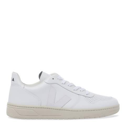 VEJA V-10 Extra White Leather Sneaker