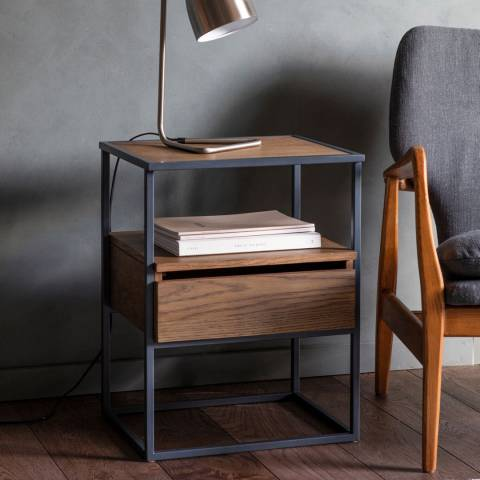 Gallery Balham Smoked Side Table