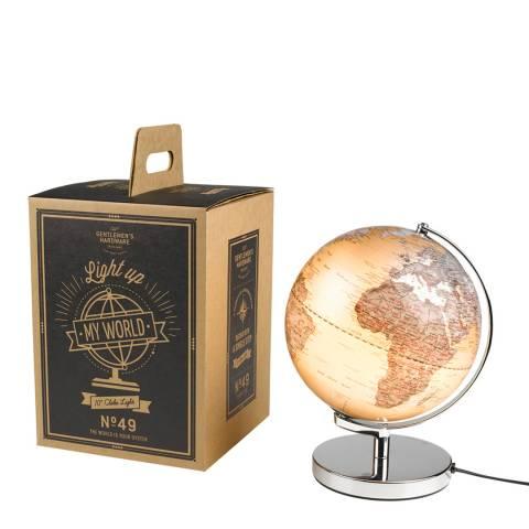 Gentlemen's Hardware Silver Globe Light