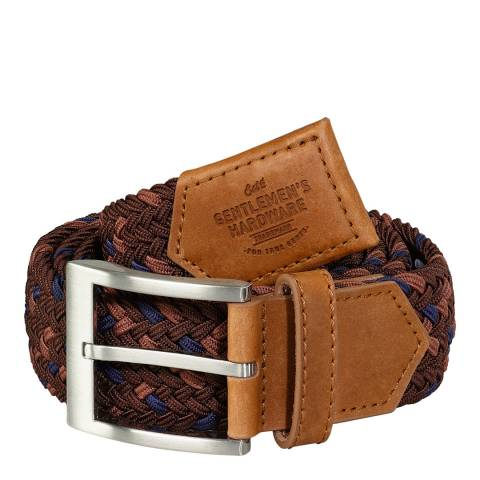 Gentlemen's Hardware Burgundy Belt