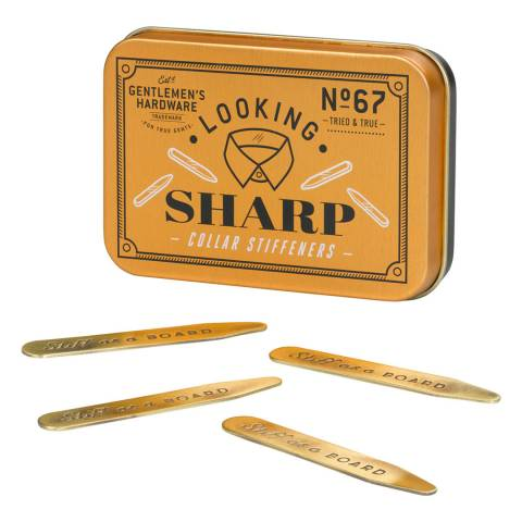 Gentlemen's Hardware Collar Stiffeners