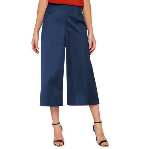 Ted Baker Dark Blue Berilo Wide Leg Culottes