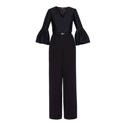 Ted Baker Black Theah Full Sleeve Jumpsuit