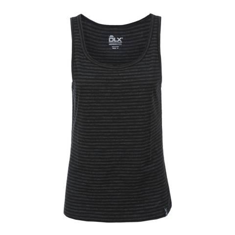 DLX Black Mariella Merino Wool Active Vest Top