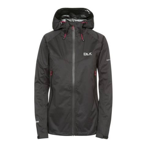 DLX Black Erika Ii Waterproof Jacket