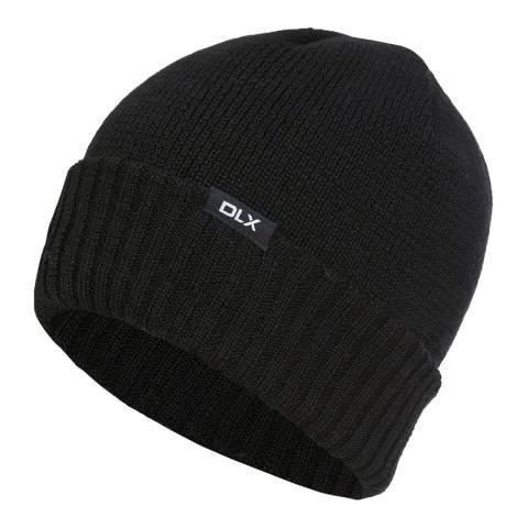 DLX Black Ronan Beanie Hat
