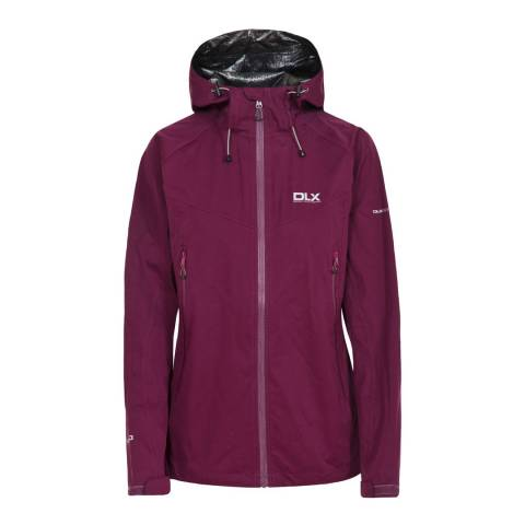 DLX Purple Erika Ii Waterproof Jacket