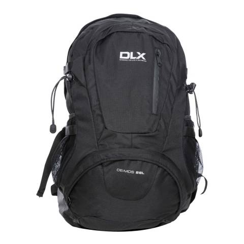 DLX Black Deimos 28 Litre Rucksack