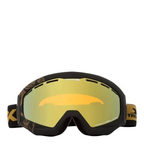 DLX Black Matt Goldeneye Ski Goggles