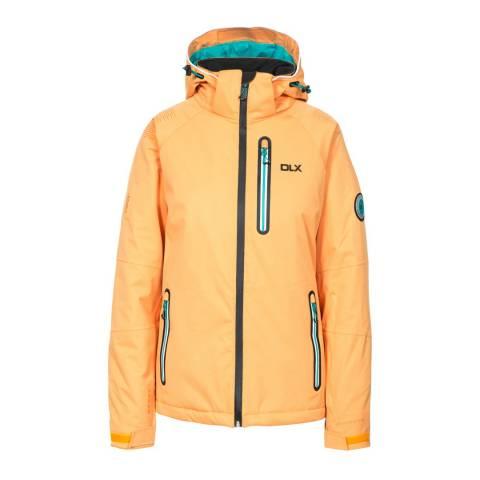 DLX Orange Nicolette Recco Highly Technical Ski Jacket