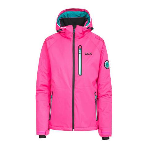 DLX Pink Nicolette Recco Highly Technical Ski Jacket