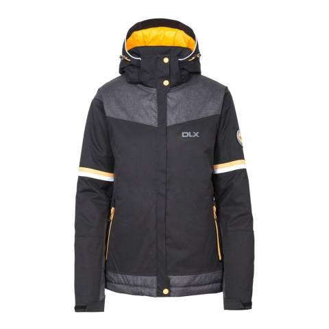 DLX Black Rosan Waterproof Ski Jacket