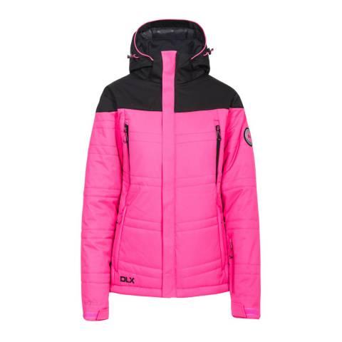 DLX Pink Thandie Stretch Ski Jacket