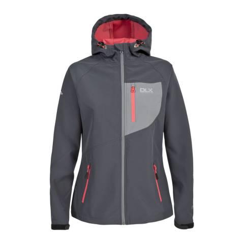 DLX Grey Ronda Breathable Softshell Jacket