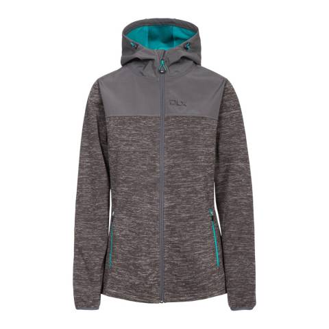 DLX Dark Grey Kirsti Breathable Softshell Jacket