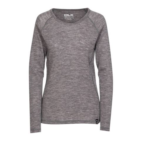 Trespass Dark Grey Libra Merino Wool Base Layer