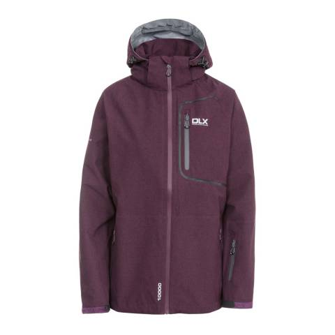 DLX Purple Gita Ii Softshell Jacket