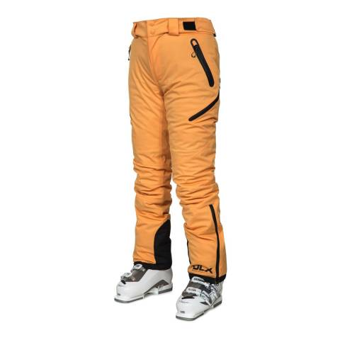 DLX Orange Marisol High Performance Ski Pants