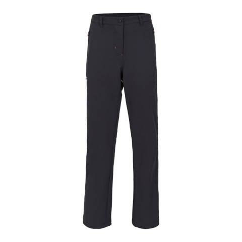 DLX Black Swerve Stretch Walking Trousers