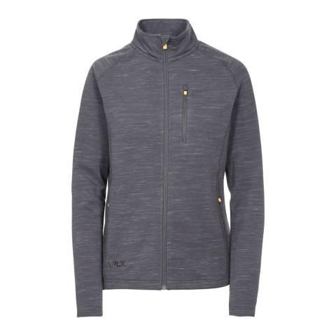 DLX Grey Erinn Fleece Jacket