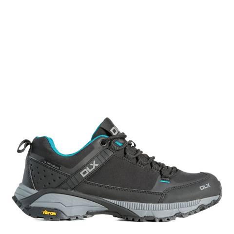DLX Black Messal Vibram Walking Shoes