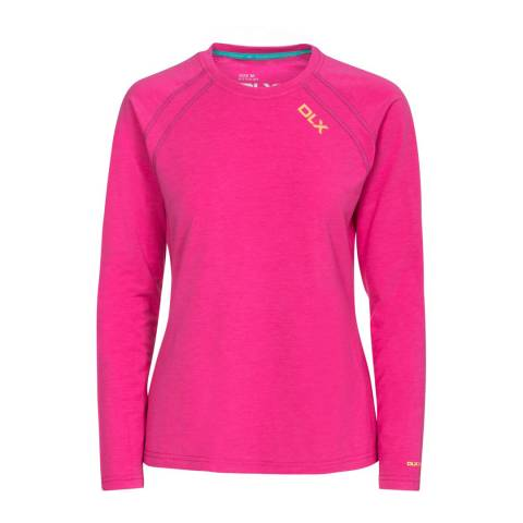 DLX Fuchsia Cali Antibacterial Quick Drying Top