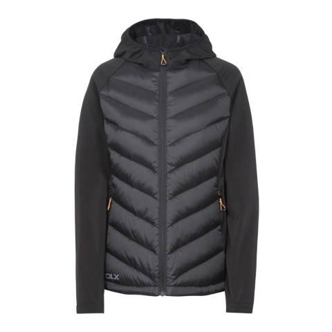 DLX Black Joyce Down Body Warmer Jacket