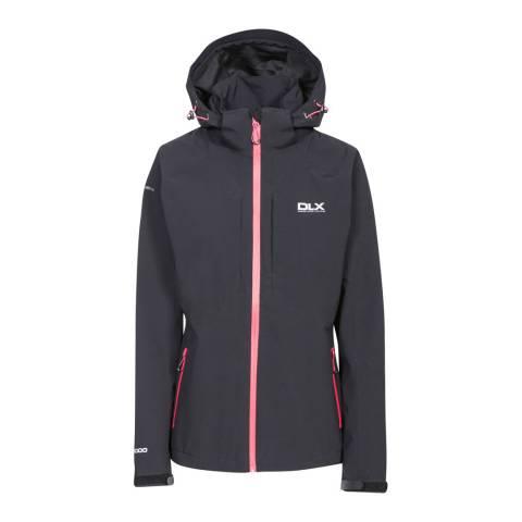 DLX Black Martina Waterproof Jacket