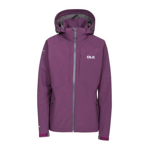 DLX Purple Martina Waterproof Jacket