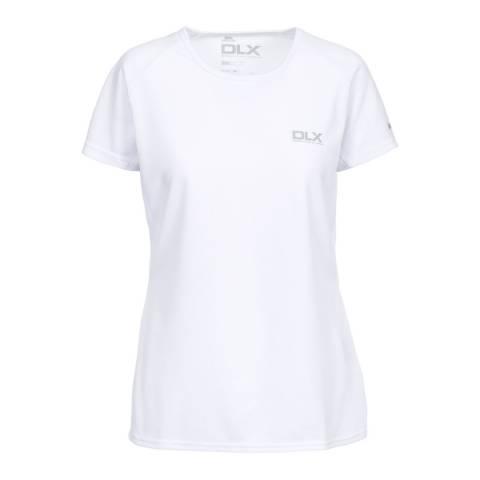 DLX White Alonza Active Top