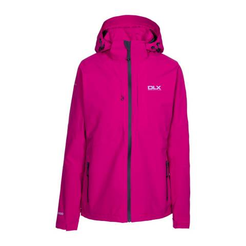DLX Pink Martina Waterproof Jacket