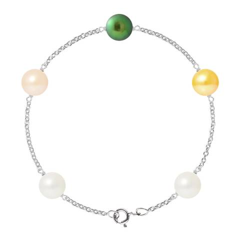 Just Pearl Multi Five Pearl Prestige Bracelet 8-9mm