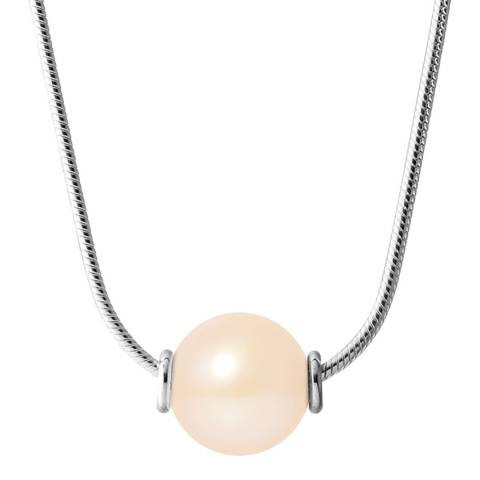 Just Pearl Natural Pink Pearl Necklace 10-11mm
