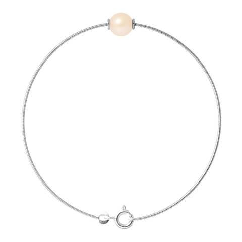 Just Pearl Natural Pink Pearl Bracelet 9-10mm
