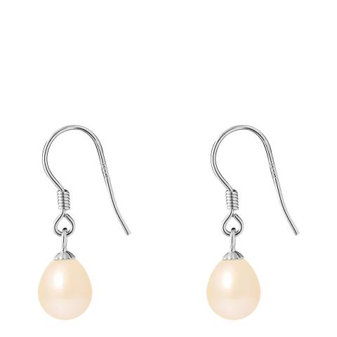 Just Pearl Natural Pink Pearl Earrings 7-8mm