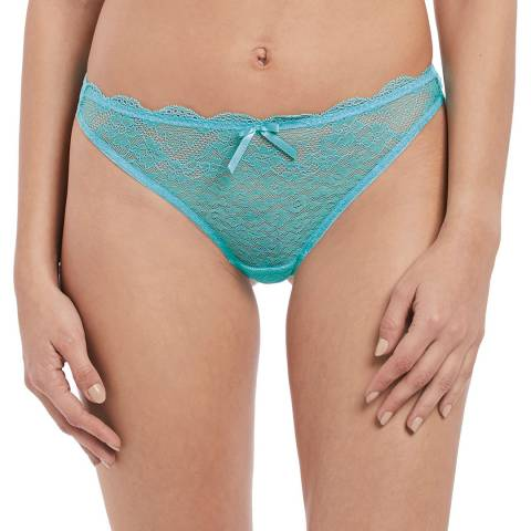 Freya Aquamarine Freya Fancies Thong