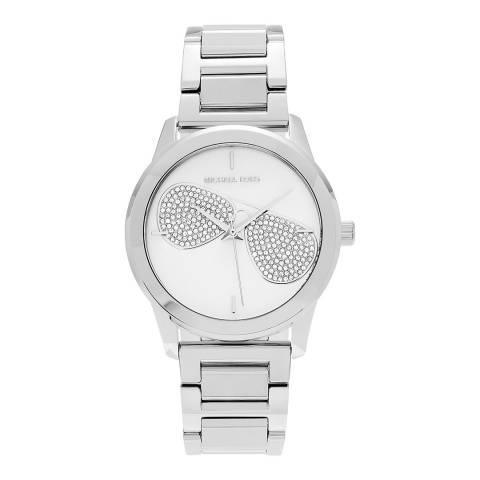 Michael Kors Women's Silver Hartman Watch 38mm