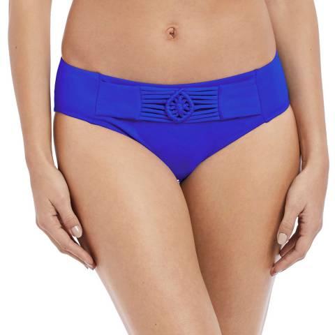 Freya Cobalt Macrame Bikini Brief